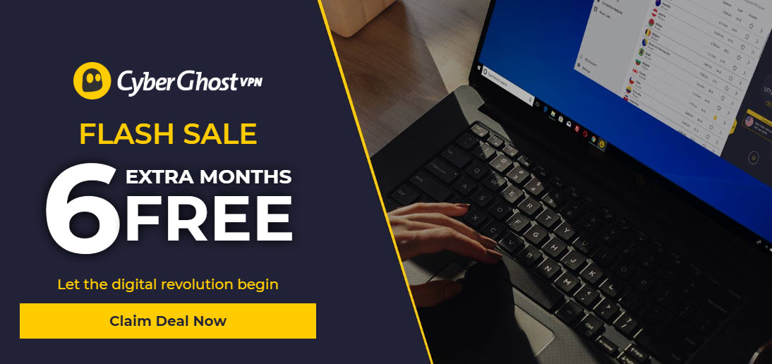 cyberghost special 6 month offer